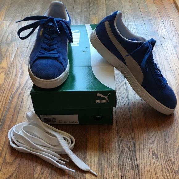 f926c1e33de8 Puma suede classic Olympian blue US size 10 1 2. M 5b31318734a4ef9212111df5